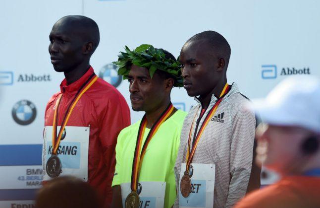 Top athlete trio threaten Berlin Marathon world record
