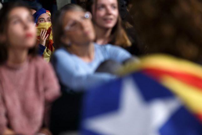 EU urges 'dialogue' in Catalan crisis