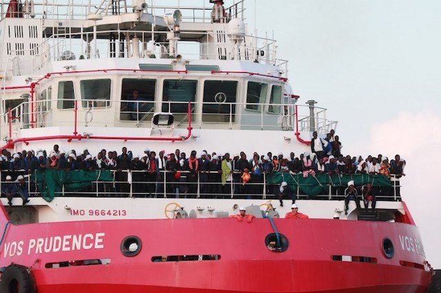 Migrant arrivals to Italy down by over thirty percent since January