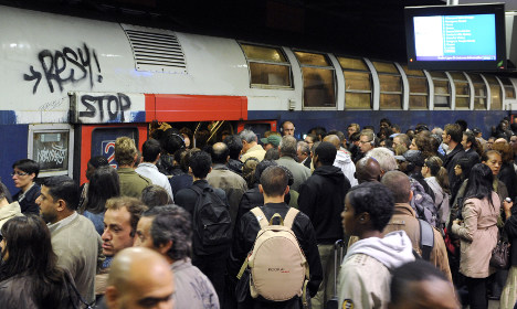 Paris: Mudslide cuts Europe's busiest commuter train line