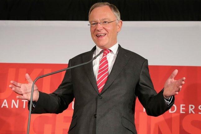 Merkel's CDU party suffers election defeat in Lower Saxony