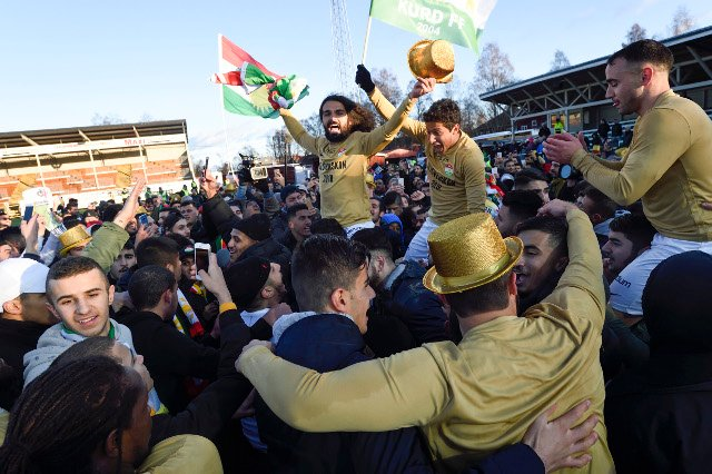 How this tiny team from Sweden gave 1.5 million Kurds something to celebrate