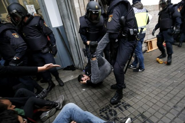 UN calls on Spain to probe referendum violence