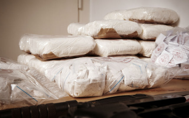 Spanish and German police find tonne of cocaine hidden in shipment of plasterboard panels