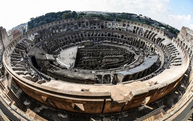 For the first time in decades, Rome's Colosseum opens its top levels to the public