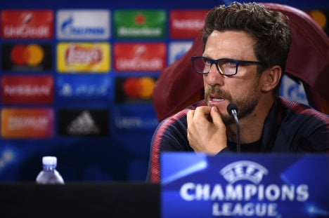 Roma coach wants 'same mentality' in Chelsea rematch