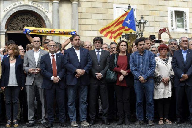 Madrid vows to 'do everything' to stop Catalan independence declaration