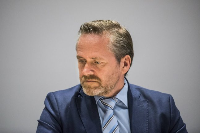 Danish foreign minister 'concerned' but stops short of condemning Catalonia violence