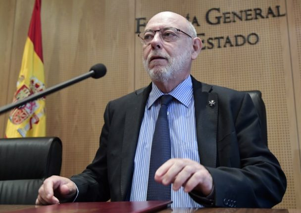 Charges of rebellion and sedition called for by Spain's attorney general against Puigdemont and other Catalan officials