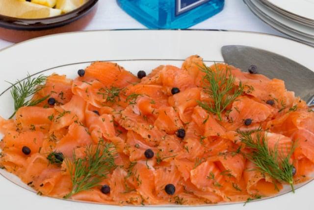 Recipe: How to make Swedish gin-cured salmon