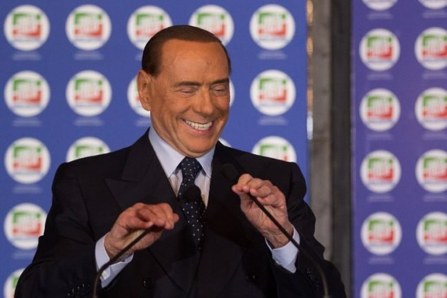 'The arancino pact': Berlusconi forms centre-right alliance ahead of Italy's general election