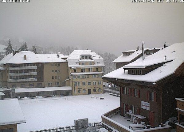 Snowfall ends Switzerland's Indian summer