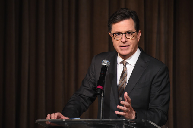 'Nothing says democracy like jailing everyone the people elected': Colbert mocks Catalan independence crisis