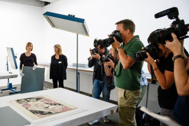 Dual German, Swiss exhibitions lift veil on Nazi-era art hoard