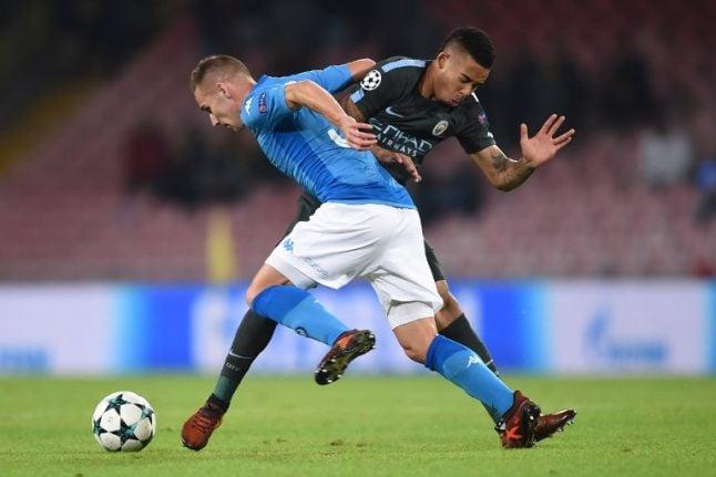 Football: Napoli hope for Serie A success as European hopes fade