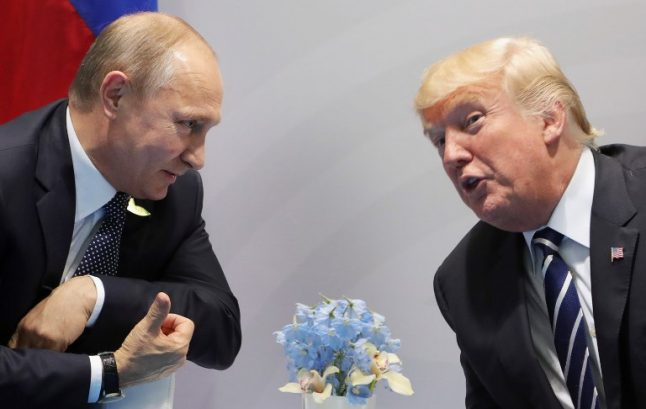 Putin more popular than Trump (at least with the French)