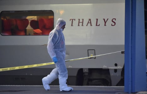 Belgium charges two over 2015 Thalys train attack