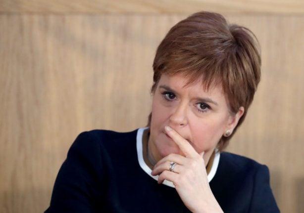 Scottish First Minister Sturgeon condemns detention of Catalan separatist leaders