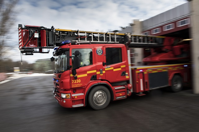 Shopping centre evacuated after fire in southern Sweden