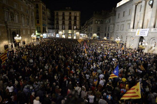 Puigdemont urges separatists to unite for Catalan vote