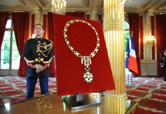 Macron to drastically reduce number of people awarded Legion d'Honneur