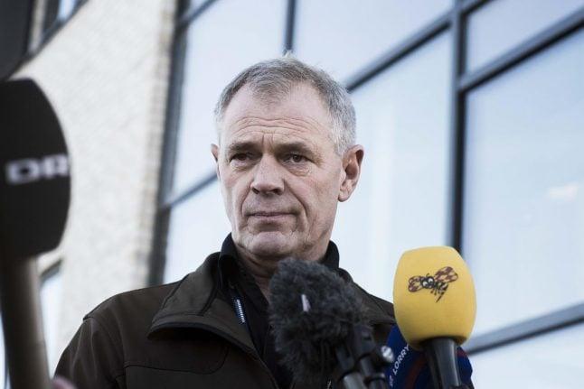 Danish police make correction over submarine owner Madsen's story