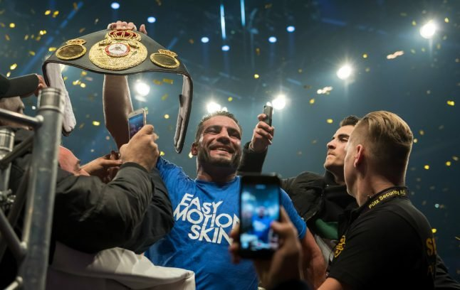 Charr ends Germany's 85-year wait for a world heavyweight champion
