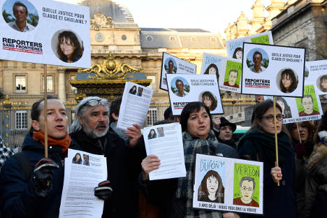 Killers of French journalists in Mali 'in Algeria': campaign group
