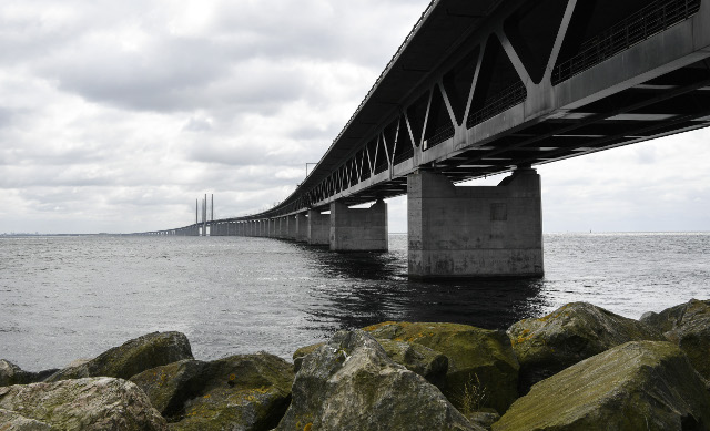 One foot in Sweden, another in Denmark: Living life on both sides of the bridge