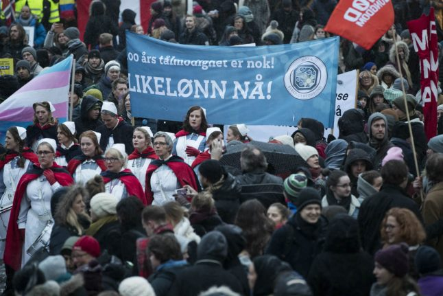 Norwegian, Danish women 'stop being paid' in November due to salary gap: report