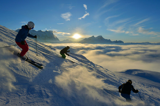 Swiss tourism chief optimistic for winter season after fall of franc