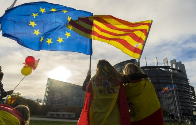 EU reactions to Spanish crisis in Catalonia signal uncertain approach