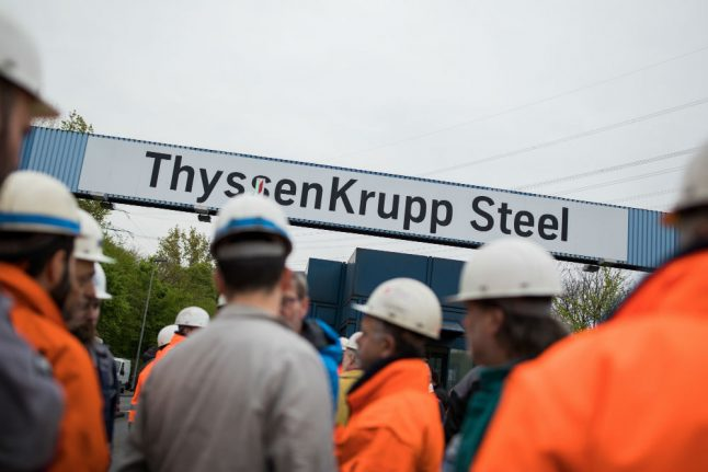 ThyssenKrupp steelworkers seal job security deal ahead of Tata merger