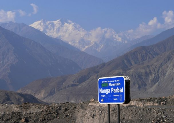 French climber saved on Pakistan's 'killer mountain'