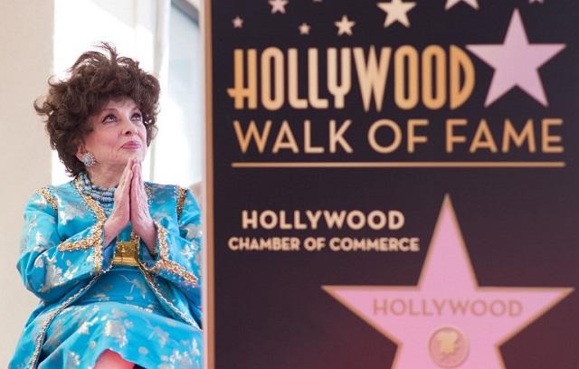 Hollywood honours Italian screen star Gina Lollobrigida