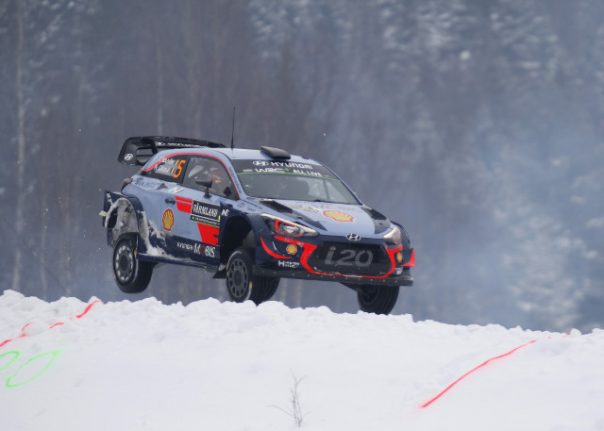Snow king Neuville wins 'ice and snow' Rally of Sweden