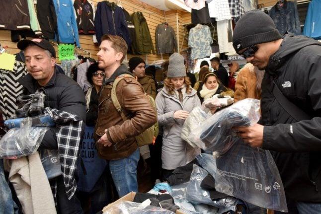 Diesel Fashion Week stunt pokes fun at knock-off artists