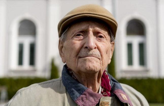 Holocaust survivor Marko Feingold, 104, recalls the Anschluss