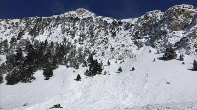 Avalanche kills two in Catalonia's Aran Valley