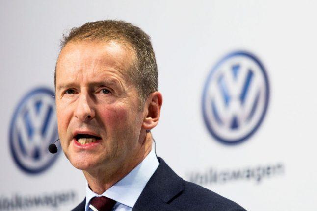 Volkswagen appoints Herbert Diess as new CEO