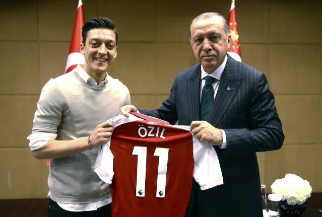 German or Turkish? Footballers' meeting with Erdogan stokes identity debate