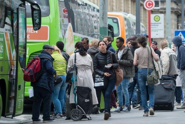 Global ambitions? Flixbus takes on Greyhound on American highways