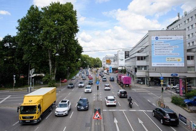 Stuttgart to bring in city-wide diesel ban at start of next year