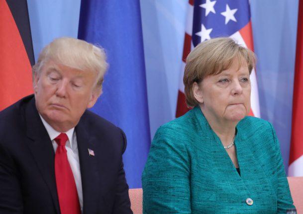 Don't turn car tariff conflict into 'real trade war', Merkel warns Trump
