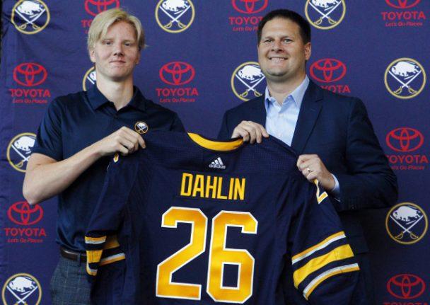 Swedish teen top NHL Draft pick Dahlin signs with Buffalo Sabres
