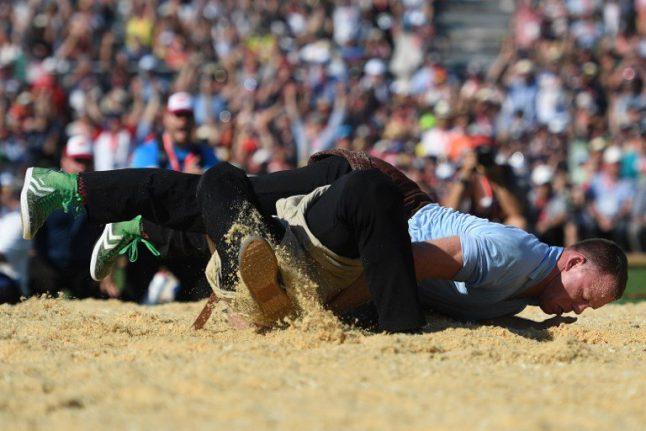 Brünig Wrestling festival celebrates its 125th edition