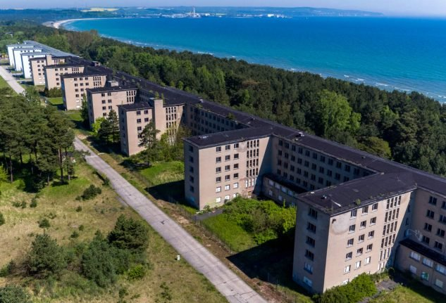 Investor turning Nazi indoctrination camp into luxury flats goes bust