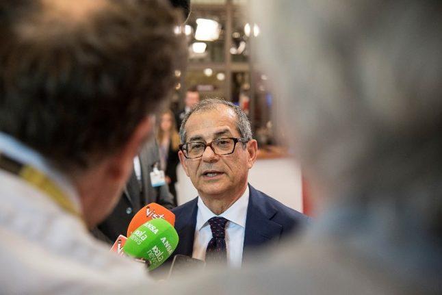 Italy reassures nervous eurozone on budget plans