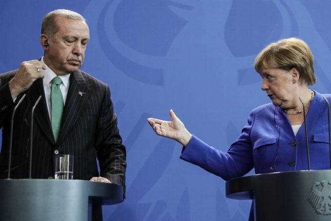 Merkel to push for release of detained Germans in Turkey as leaders vow to rebuild bridges