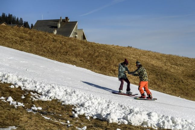 Switzerland is rapidly losing its snow (and climate change is probably to blame)